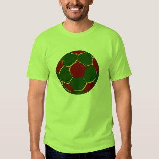 Fãs de Portugal do por do Bola T-shirt