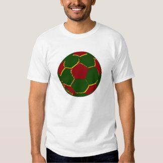 Fãs de Portugal do por do Bola Tshirt
