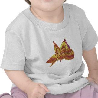 fascínio 3d da borboleta tshirt