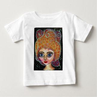 fascínio floral 18 camiseta para bebê