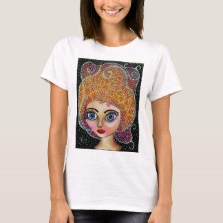 Fascínio floral camiseta