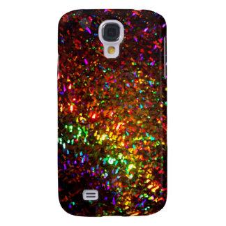 fascínio na capa de telefone do ouro galaxy s4 cover