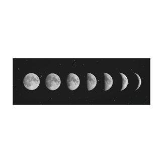 Fases e estrelas da lua