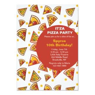 Fatia de convite da pizza