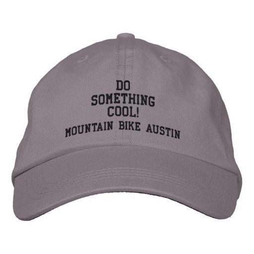 FAZ ALGO LEGAL? Boné de Austin do Mountain bike