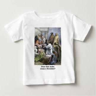 Faz isto fazem a Jesus um socialista T-shirt