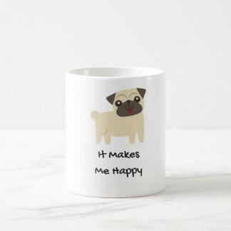 Faz-me a caneca do Feliz-Pug