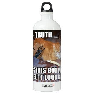 Faz minha garrafa de água grande do olhar do