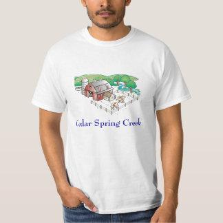 fazenda, angra do primavera do cedro t-shirts