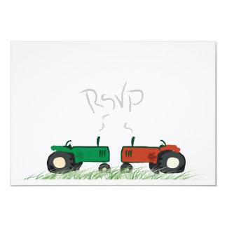Fazenda do verão que Wedding o cartão de RSVP