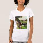Fazenda do vintage camisetas
