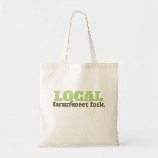 Fazenda, o bolsa do Local da forquilha da reunião