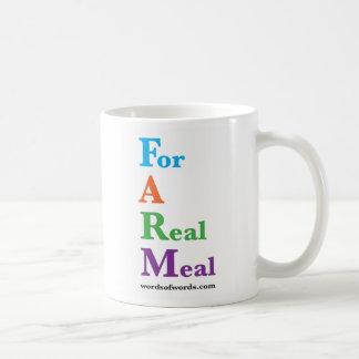 """FAZENDA: """"Para caneca de uma refeição real"""""""