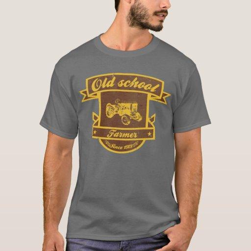 Fazendeiro da velha escola camiseta