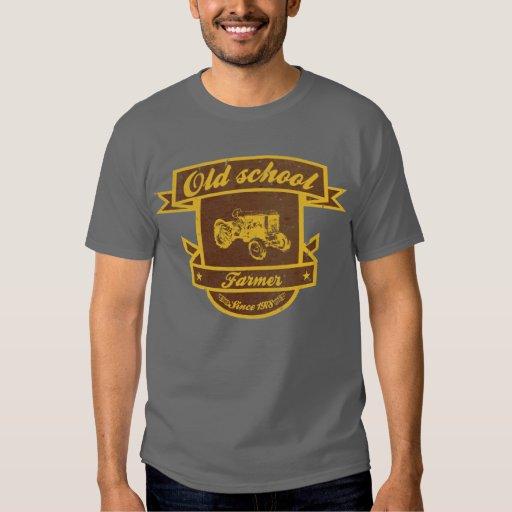 Fazendeiro da velha escola camisetas