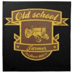 Fazendeiro da velha escola guardanapo