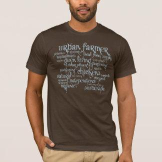 Fazendeiro urbano camiseta