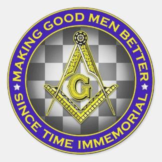 Fazendo a bons homens a melhor etiqueta maçónica