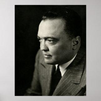 FBI 1947 Ditector J. Edgar Hoover Posters