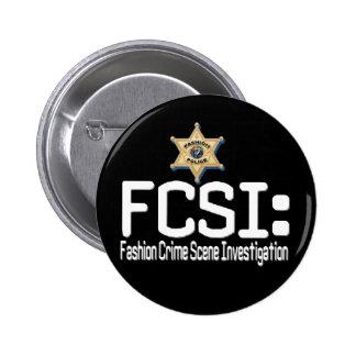 FCSI:  Investigação da cena do crime da forma Bóton Redondo 5.08cm
