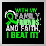 Fé dos amigos da família do sobrevivente do linfom poster