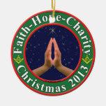 Fé, esperança, caridade, Freemasons Enfeites