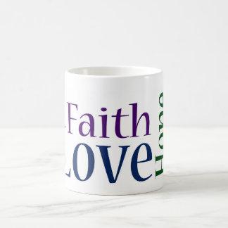 Fé, esperança e amor: 1 13:13 dos Corinthians Caneca