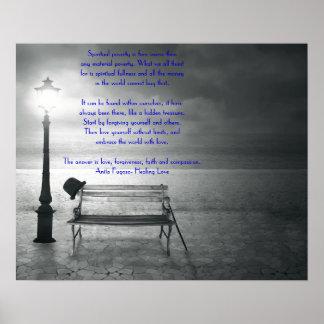 fé, remissão, amor, piedade pelo healinglove impressão