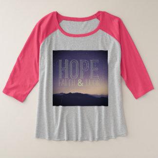 Fé & sorte da esperança mais a camisa