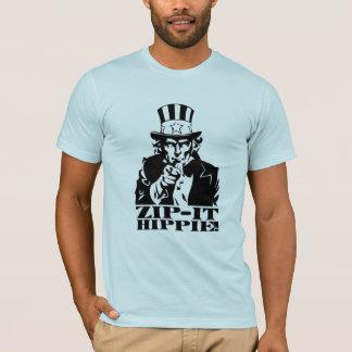 Feche-o Hippie! Camiseta