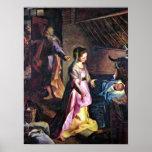 Federico Barocci - nascimento do cristo Impressão