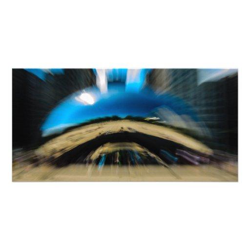 Feijão 1 cartão com fotos personalizado