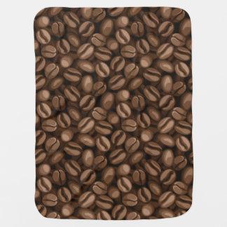Feijões de café mantas para bebe