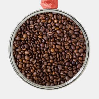 Feijões de café! ornamento de metal