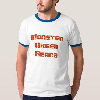 Feijões verdes do monstro camiseta