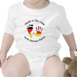 Feito com alemão parte o t-shirt