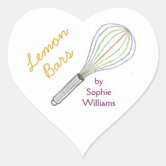 Feito com etiquetas do cozimento do bar do limão