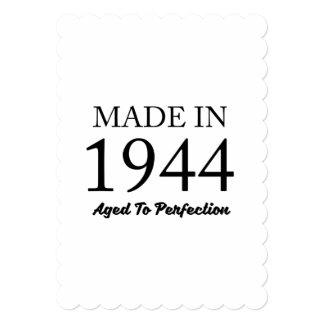 Feito em 1944 convite 12.7 x 17.78cm