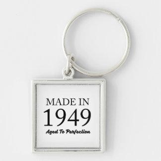 Feito em 1949 chaveiro