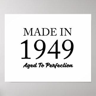 Feito em 1949 pôster