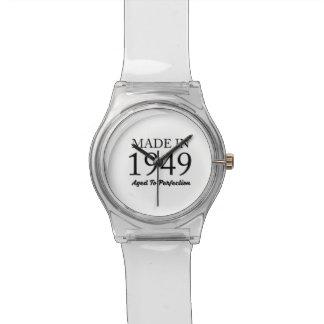 Feito em 1949 relógio de pulso