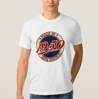 Feito em 1950 t-shirt