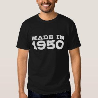 Feito em 1950 tshirts