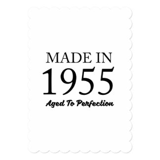 Feito em 1955 convite 12.7 x 17.78cm