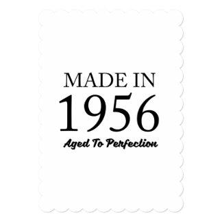 Feito em 1956 convite 12.7 x 17.78cm