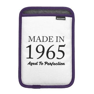 Feito em 1965 luva iPad mini