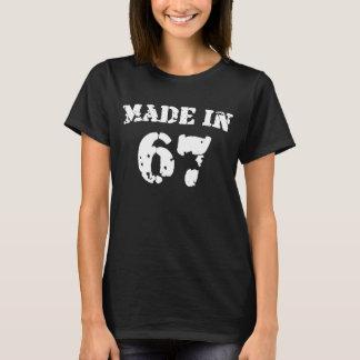 Feito em 1967 camiseta