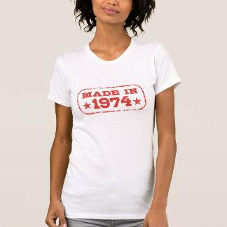 Feito em 1974 t-shirt