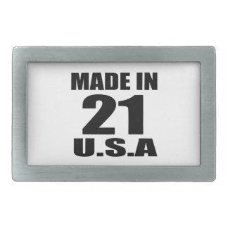 FEITO EM 21 DESIGNS DO ANIVERSÁRIO DOS EUA