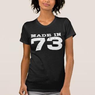 Feito em 73 camiseta